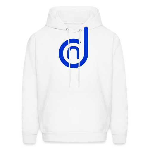 DCN (Direct Cannabis Network Logo -Blue) - Men's Hoodie