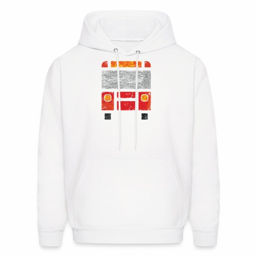 Iconic Red Bus - Men's Hoodie