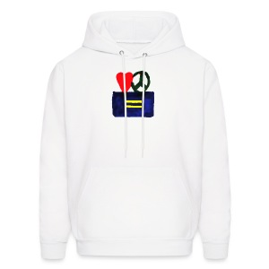 Peace, Love and Equality - Men's Hoodie