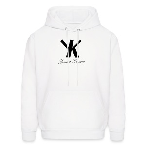 Young Kevino Official Logo (Black) - Men's Hoodie