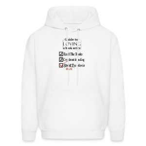Guide To Loving A Book Series (Black) - Men's Hoodie
