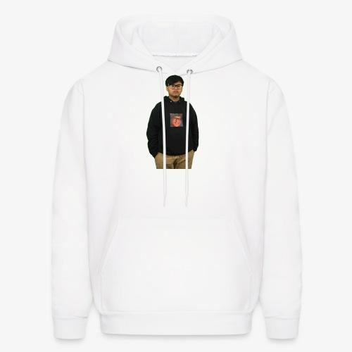 me wearing a hoodie of me - Men's Hoodie