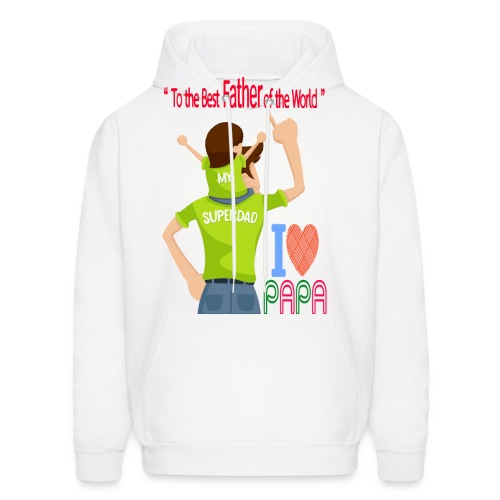 Father and son - Men's Hoodie