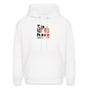 Dog & Cat - Men's Hoodie