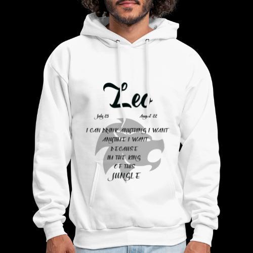 Leo Birthday Male Version - Men's Hoodie