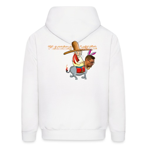 Flaming Donkey - Original - Men's Hoodie