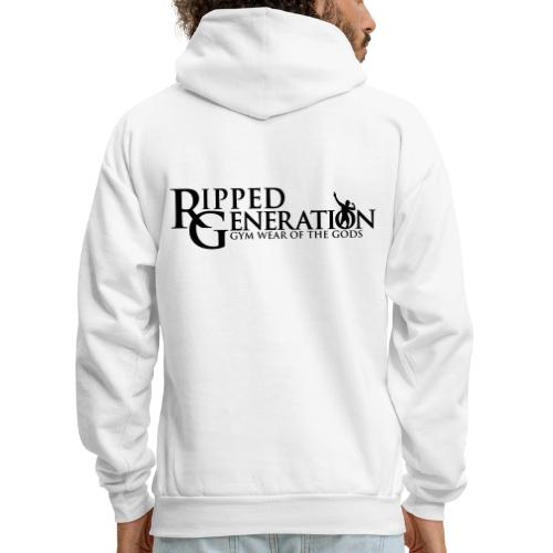 Ripped Generation Gym Wear of the Gods Logo - Men's Hoodie