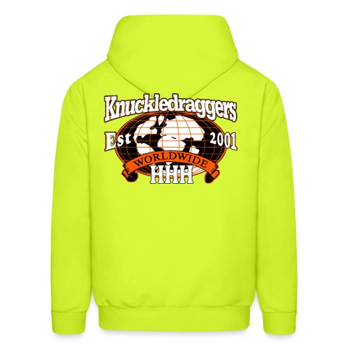 KDH3 Worldwide Logo - Men's Hoodie