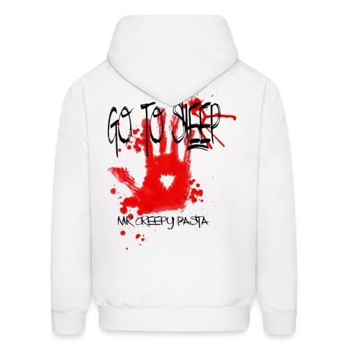 Go to sleep hoodie png - Men's Hoodie