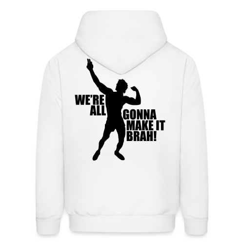 Zyzz Silhouette we're all gonna make it - Men's Hoodie