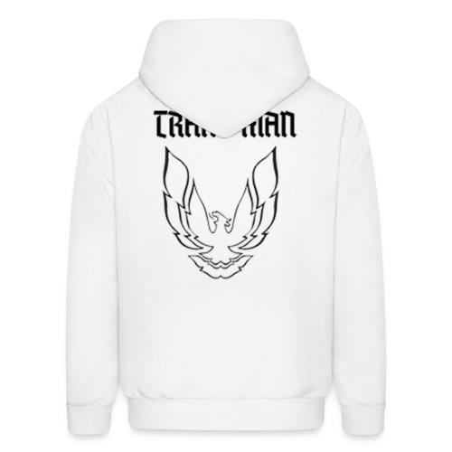 Trans Man B W - Men's Hoodie