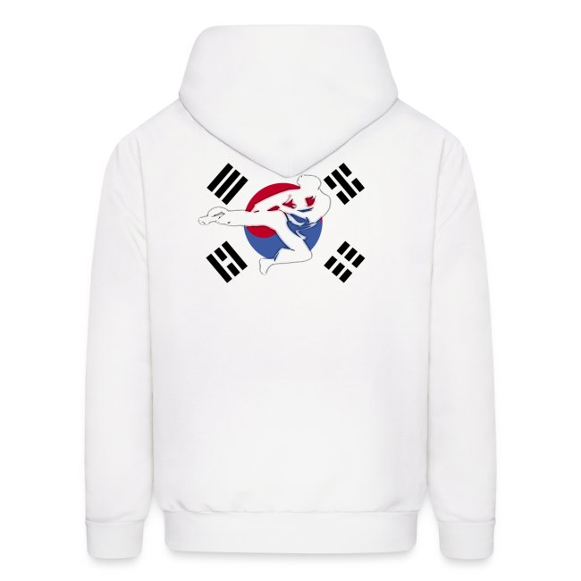 Taekwondo Mens Long Sleeve Hooded Hoodies For Men