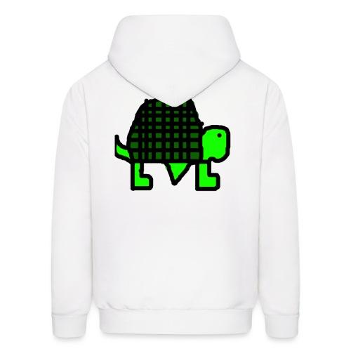 turtle gif - Men's Hoodie