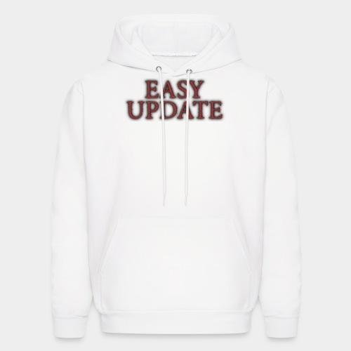 Easy Update Logo Red - Men's Hoodie