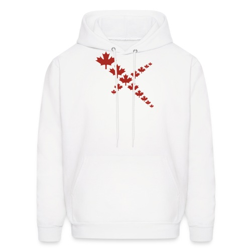 Maple Leafs Cross - Men's Hoodie