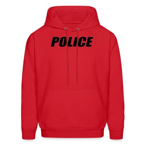 Police Black - Men's Hoodie