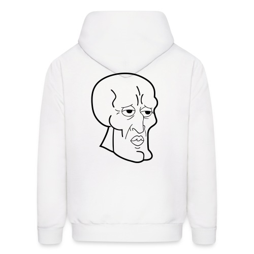 handsome squidward - Men's Hoodie