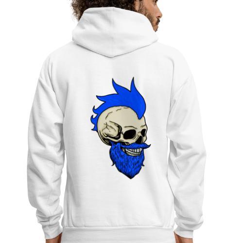 Matty Mohawk Skull - Men's Hoodie