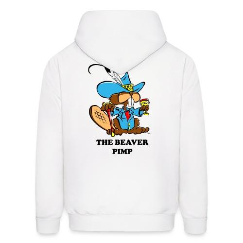 Beaver Pimp - Men's Hoodie