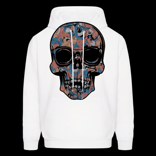 Abstract Skull With Sunglasses - Men's Hoodie