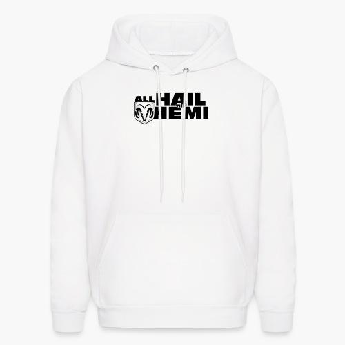 Hail Hemi (Black) - Men's Hoodie