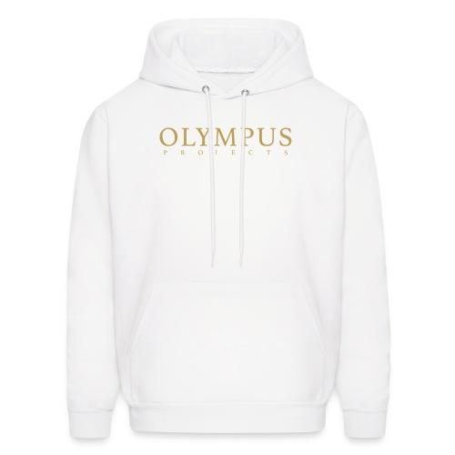 Olympus Txt Logo - Men's Hoodie