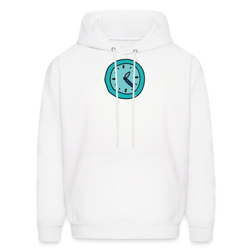 When the clock strikes: Caps, Men's hoodie and wom - Men's Hoodie