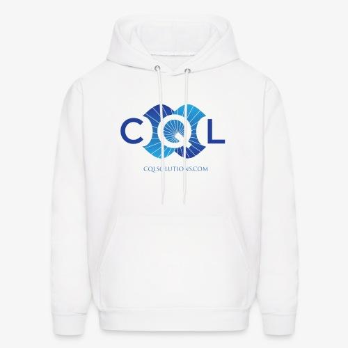 CQL Large Logo Float w URL - Men's Hoodie