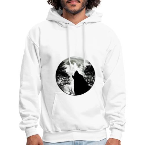 wolf moon - Men's Hoodie