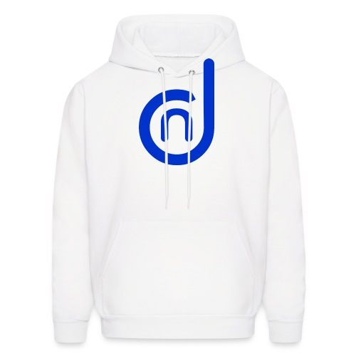 DCN (Direct Cannabis Network Logo -Blue) - Men's Hoodie