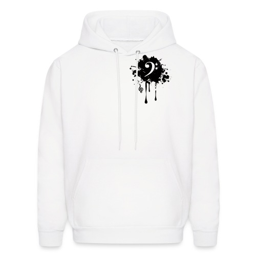 Front Black original - Men's Hoodie