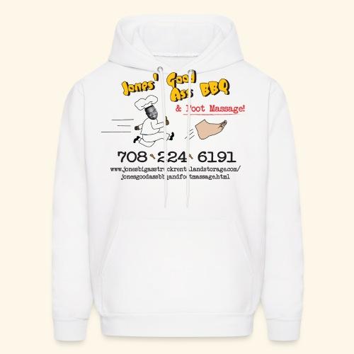 Jones Good Ass BBQ and Foot Massage logo - Men's Hoodie
