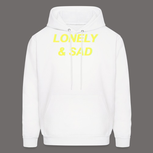 Yellow/Green Italic - Men's Hoodie