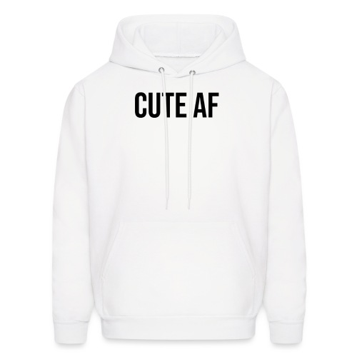 CUTE AF BLACK - Men's Hoodie