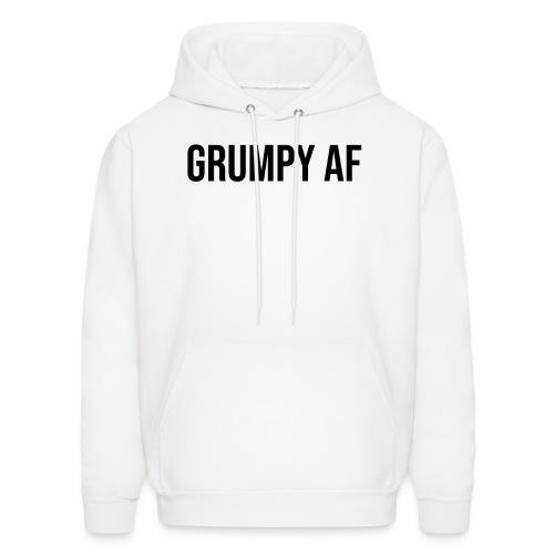 GRUMPY AF BLACK - Men's Hoodie