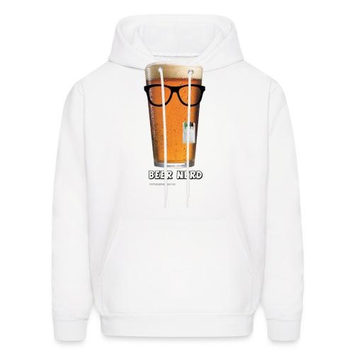Beer Nerd Men's 3XL/4XL Hooded Sweatshirt - Men's Hoodie