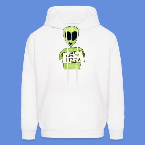 Just give me pizza Alien - Men's Hoodie