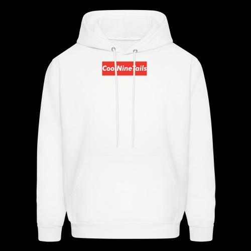 CoolNineTails supreme logo - Men's Hoodie