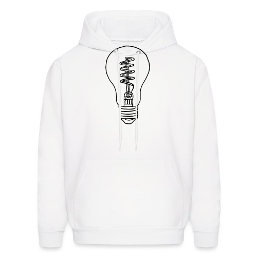 Vintage Light Bulb - Men's Hoodie