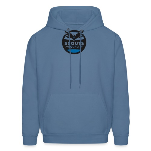 scoutsforequality bluelogo - Men's Hoodie
