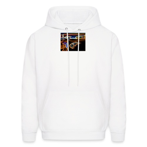 Melted Neon Dali - Men's Hoodie