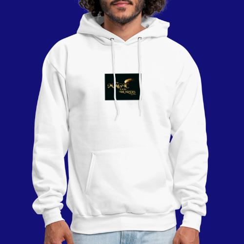 The magic is in the words gold - Men's Hoodie
