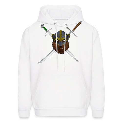 Skall logo with swords - Men's Hoodie