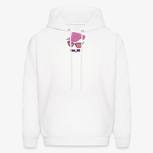 Glasses And Hat - Men's Hoodie