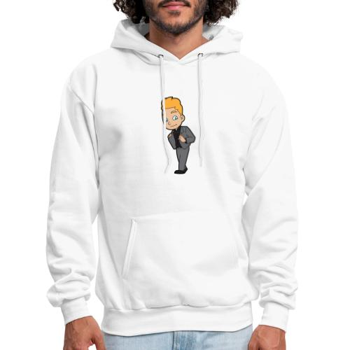 557px Cool And Confident Businessman svg - Men's Hoodie