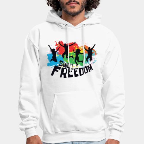 freedom free - Men's Hoodie
