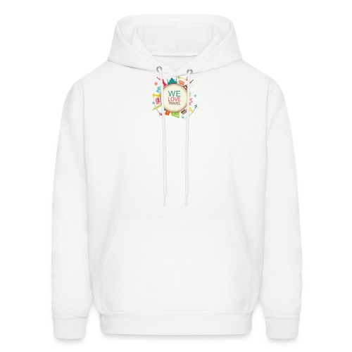logo welovetravel - Men's Hoodie