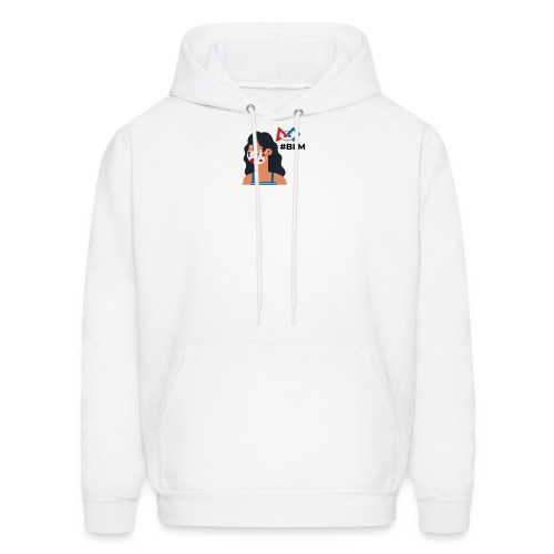 #BLM FIRST Girl Supporter - Men's Hoodie