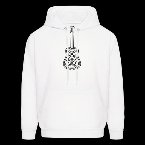 Amazing Guitar - Customizable Color Design - Men's Hoodie