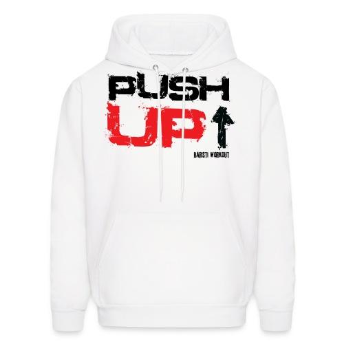 push upb png - Men's Hoodie